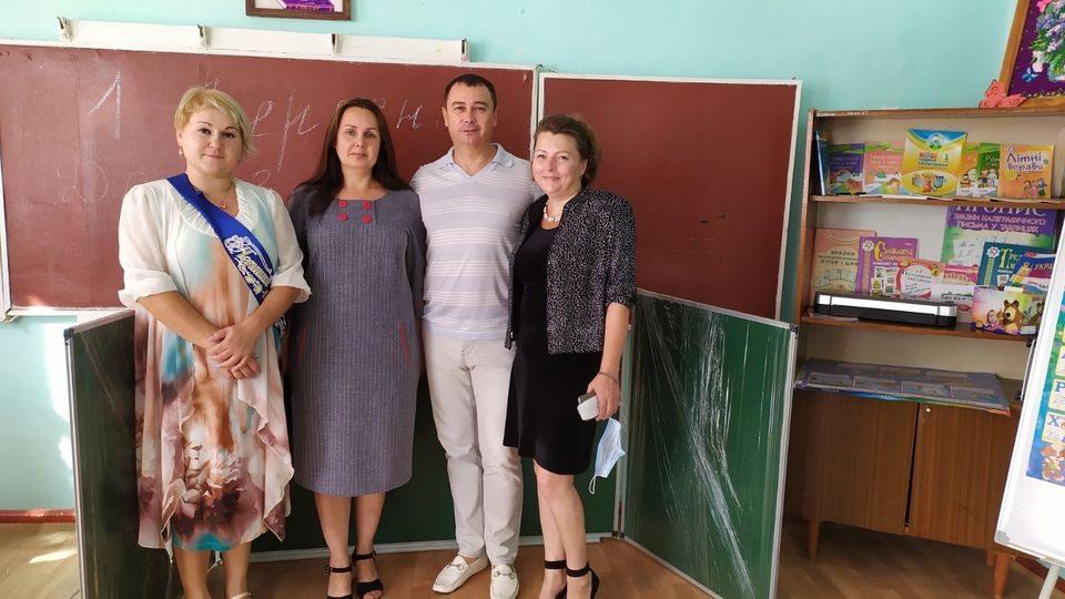 первоклассники, Геническ, Черепаха