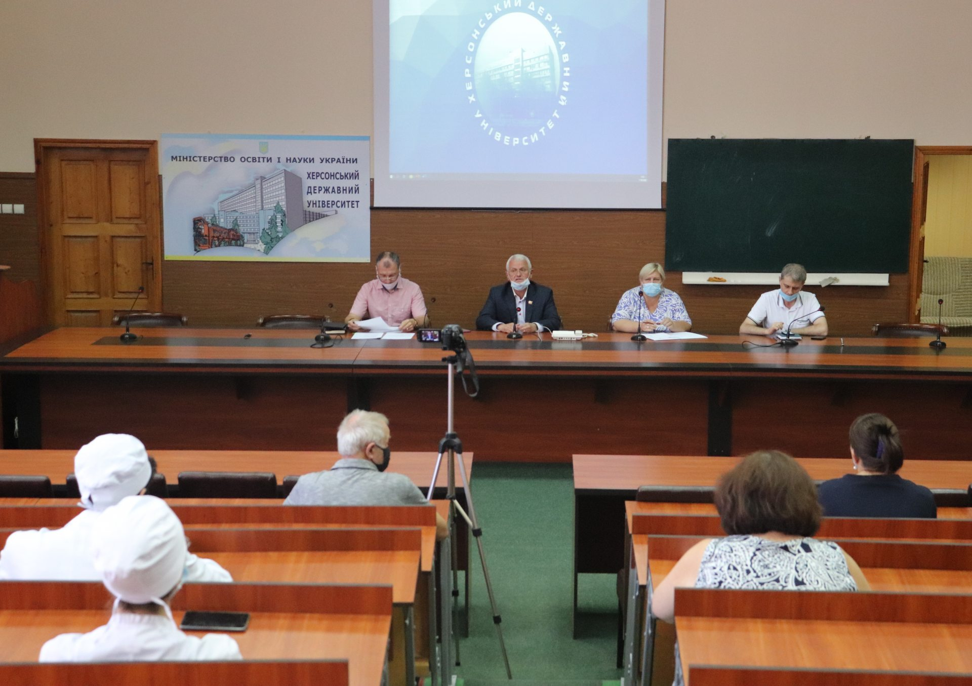 Студентам медфаку ХДУ розповіли про підготовку до КРОКу