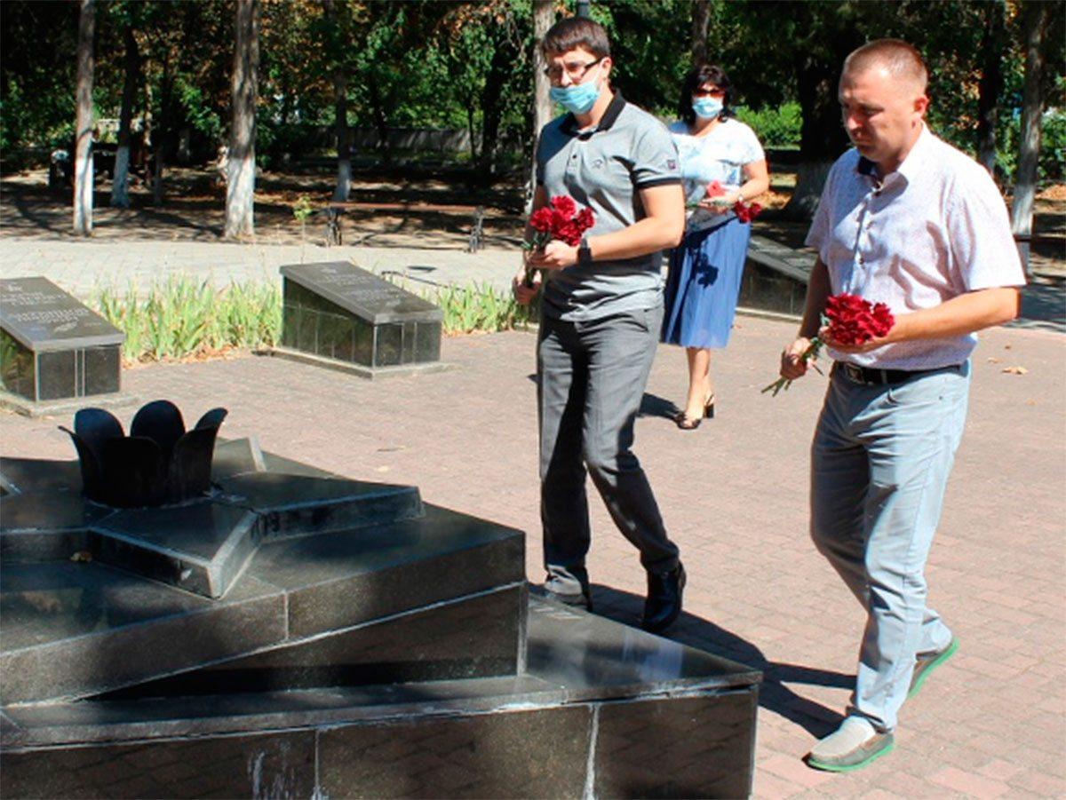 В Олешках вшанували пам'ять жертв Другої світової війни