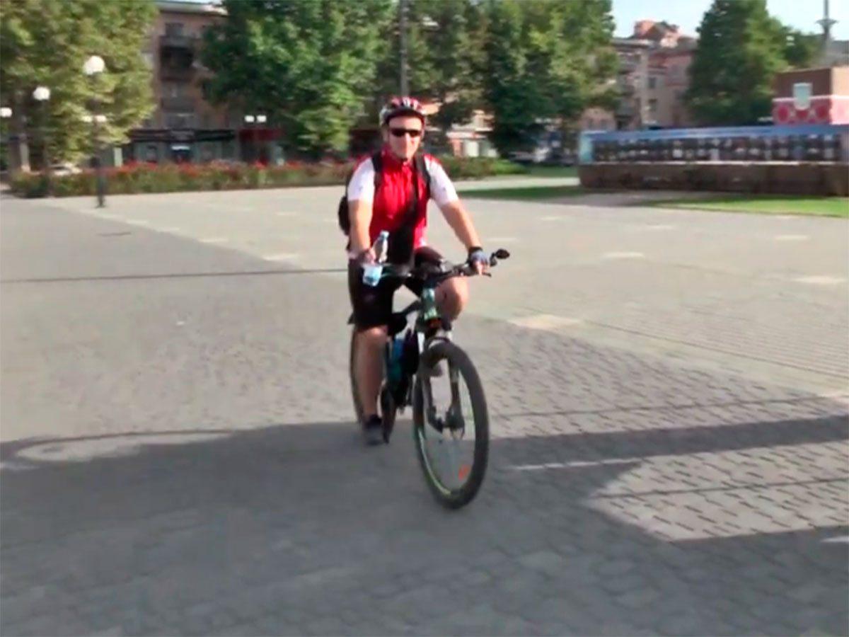 У Херсоні велосипедом на роботу
