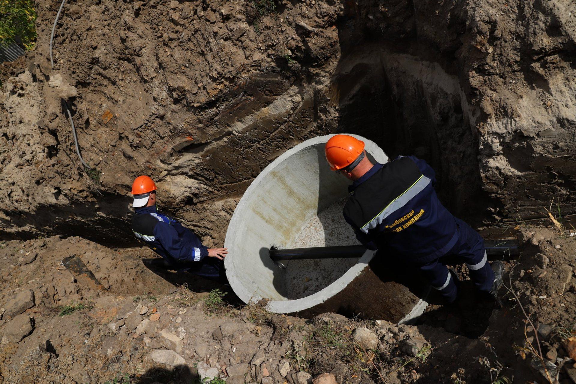 В Херсоне жители частного сектора сами частично финансируют ремонт водопровоных сетей