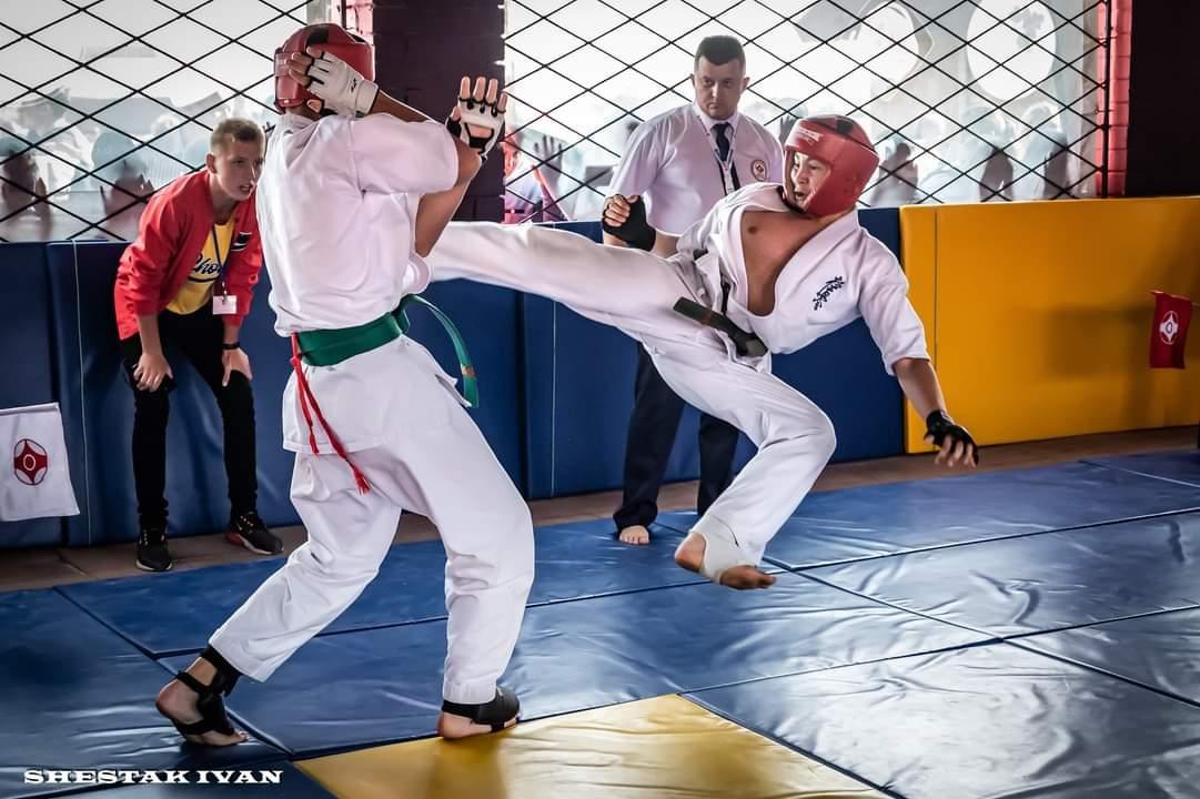В Херсонській області відбулося свято бойового мистецтва кіокушин-карате