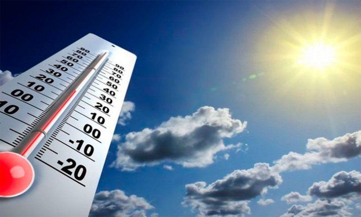 Два температурных рекорда за два дня зафиксировали на Херсонщине