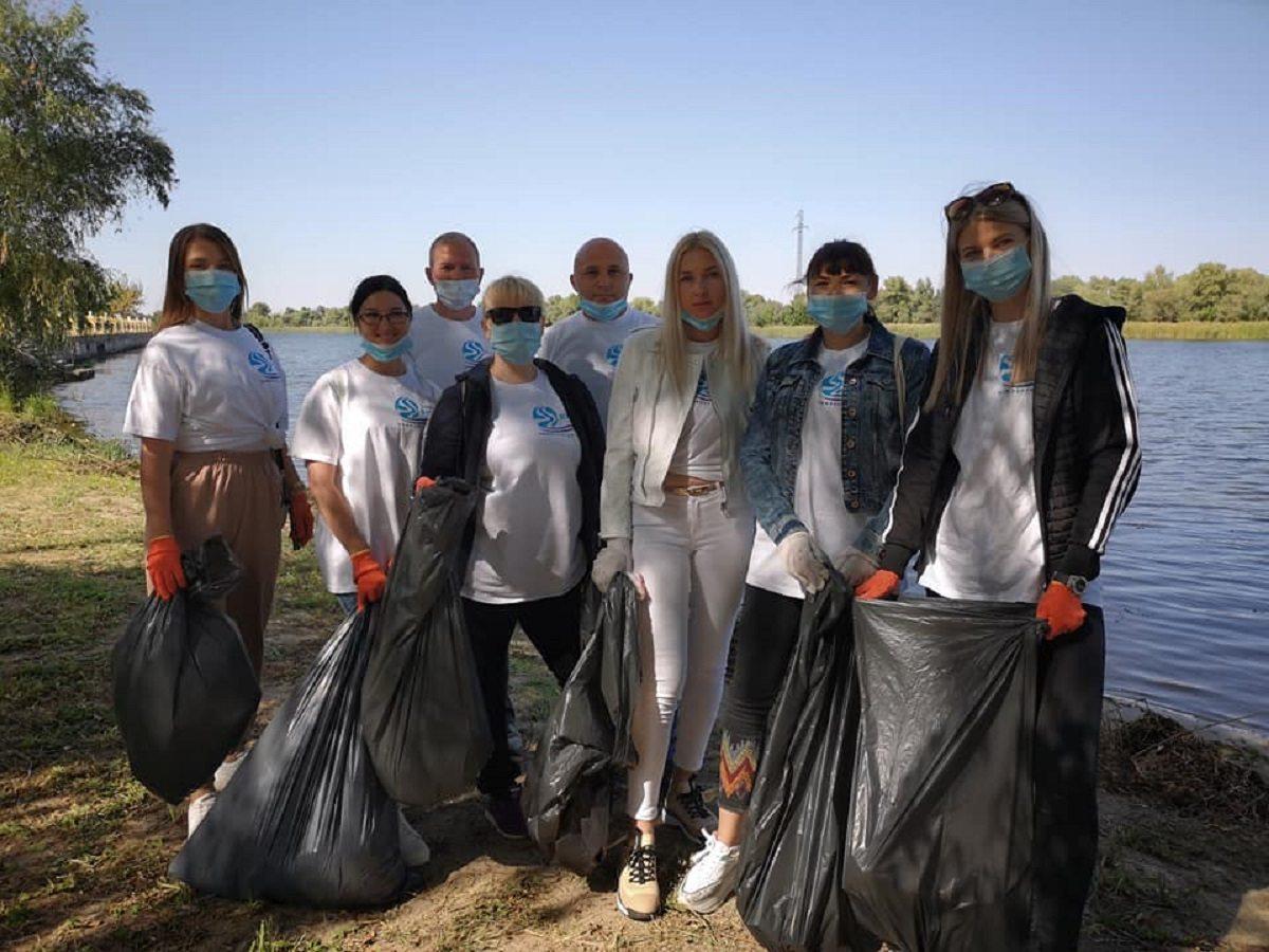 На Херсонщині провели екологічну акцію до Міжнародного дня чистих берегів