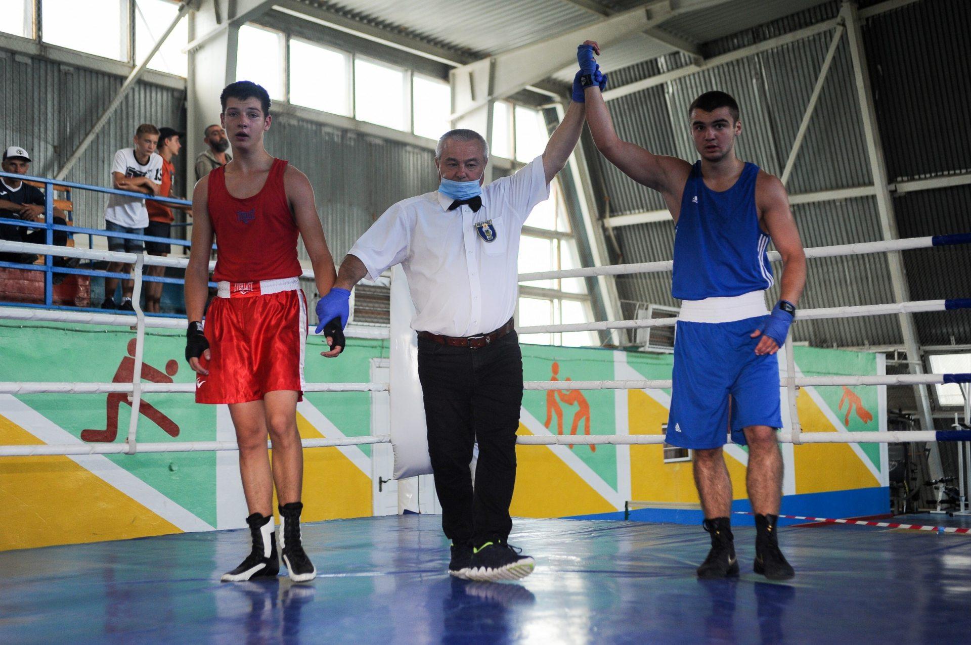 В Херсонской области прошёл чемпионат по боксу