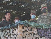 Президенту Зеленскому продемонстрировали обезвреживание диверсантов в Скадовске (фото)