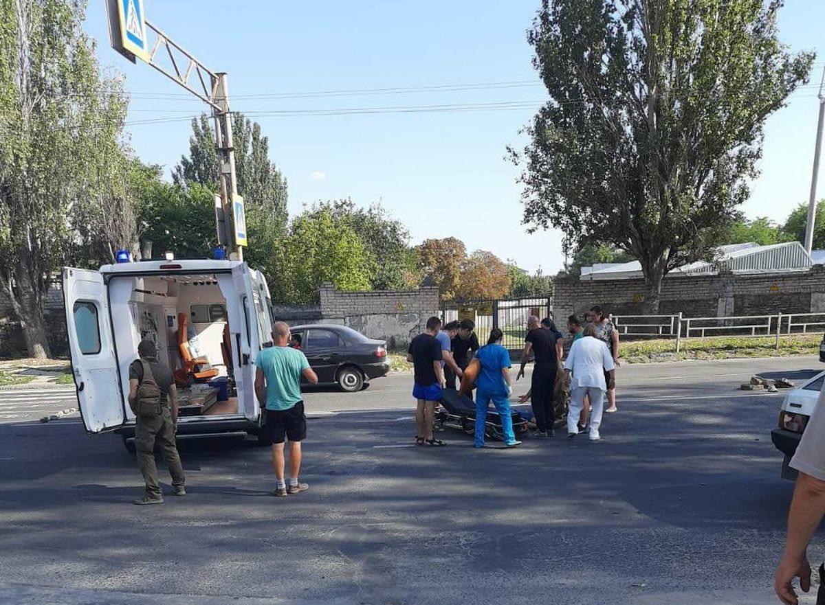 В Херсоне автомобиль сбил пешехода на улице Перекопской