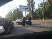 В Херсоне произошло ДТП на Николаевском шоссе