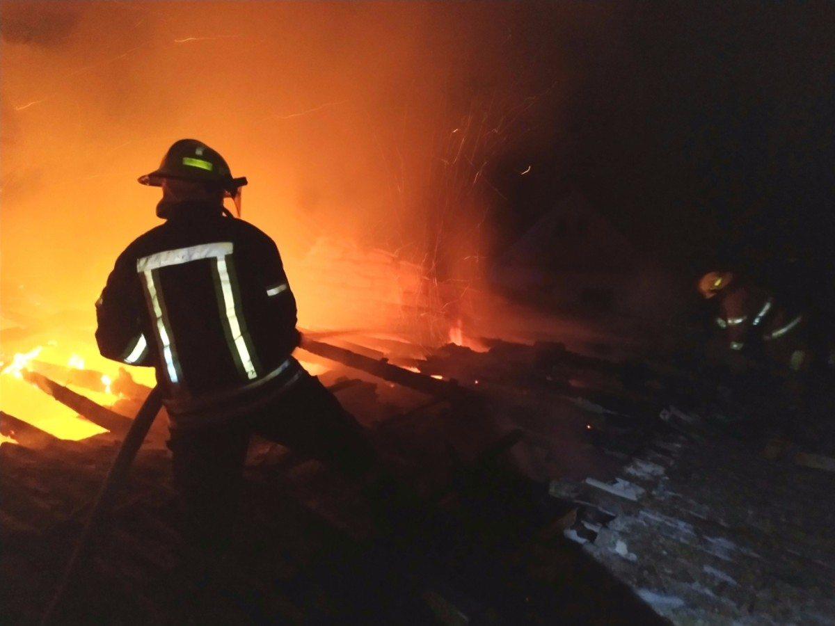 На Херсонщине сгорел продуктовый магазин