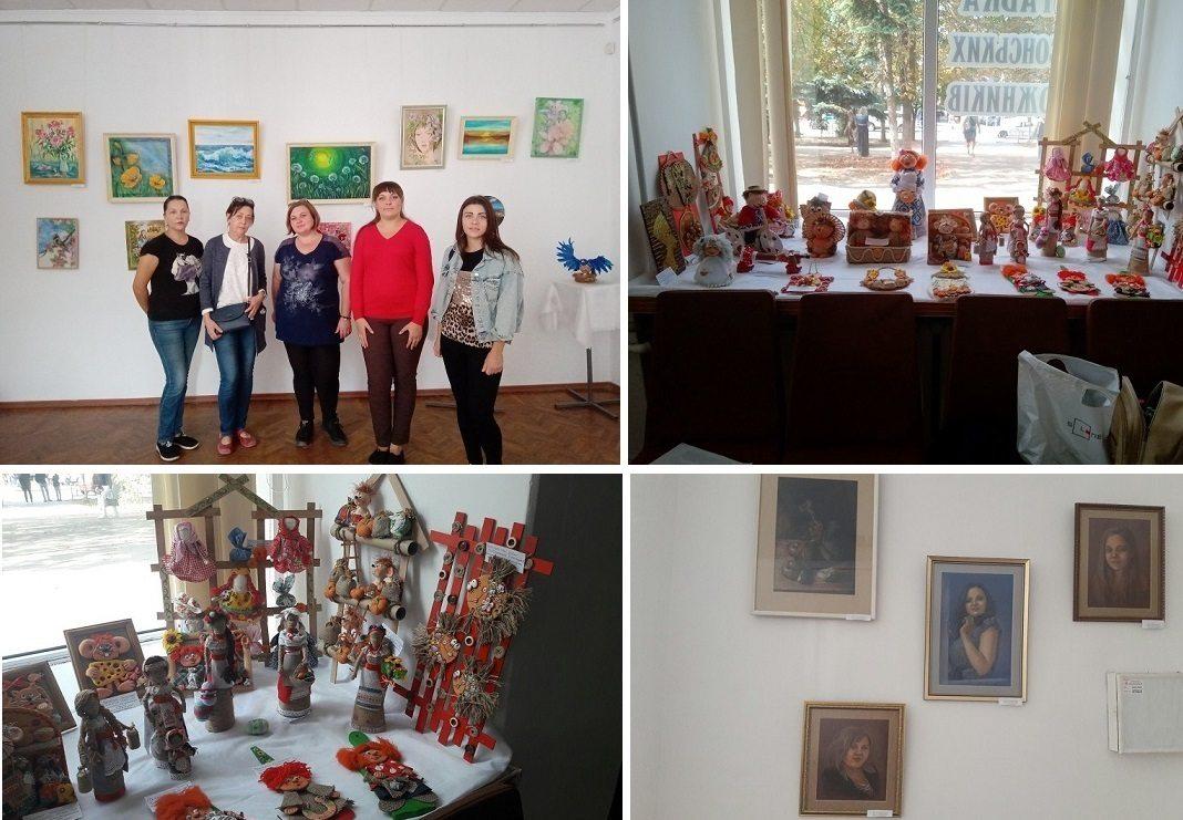"""Херсонців та гостей міста запрошують відвідати щорічну виставку """"На крилах творчості"""""""