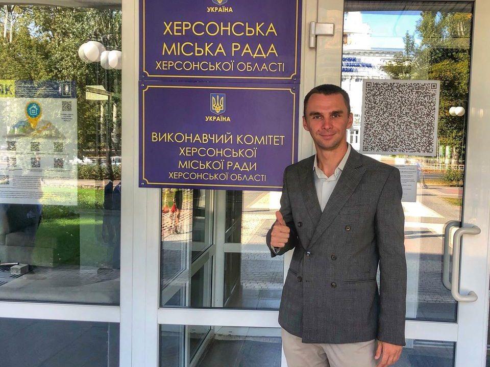 Виталий Выбранский: Херсону нужны перемены