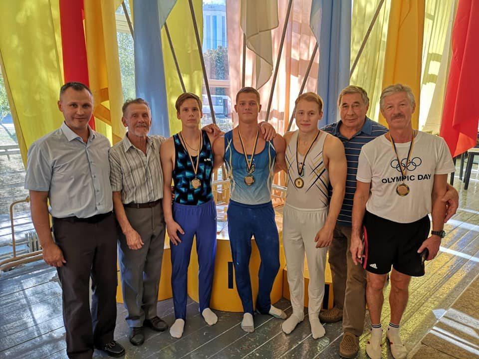 Херсонські студенти серед призерів чемпіонату України зі спортивної гімнастики