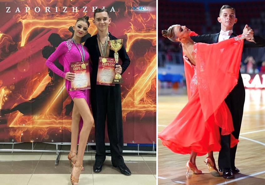 Херсонские лицеисты стали обладателями кубка чемпионов Украины по бальным танцам