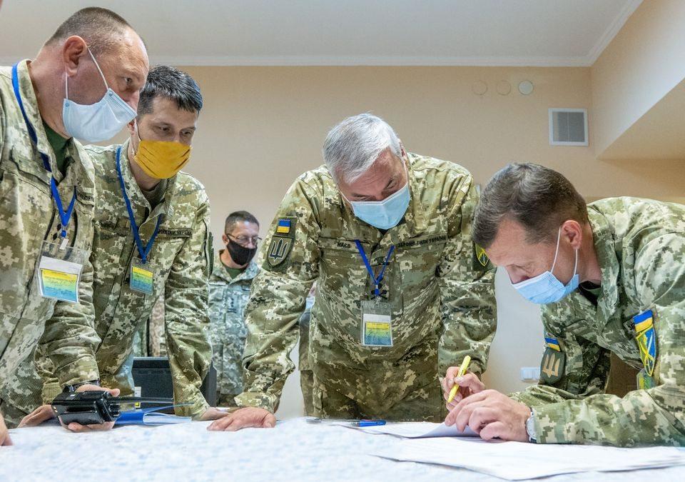 """В ході військових навчань """"Об'єднані зусилля – 2020"""" завершується підготовка до контрудару по супротивнику"""