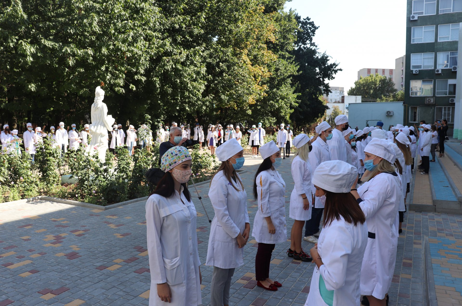 На медичному факультеті відбулася посвята першокурсників