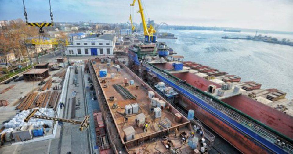 Судостроительные верфи Херсонщины вошли в топ-3 верфей Украины