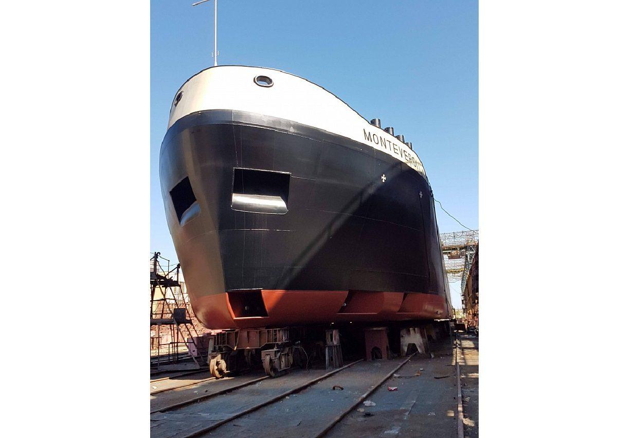 танкер, Smart Maritime Group, спуск, VEKA Group, верфь