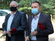 В Олешках вшанували героїв партизанського руху
