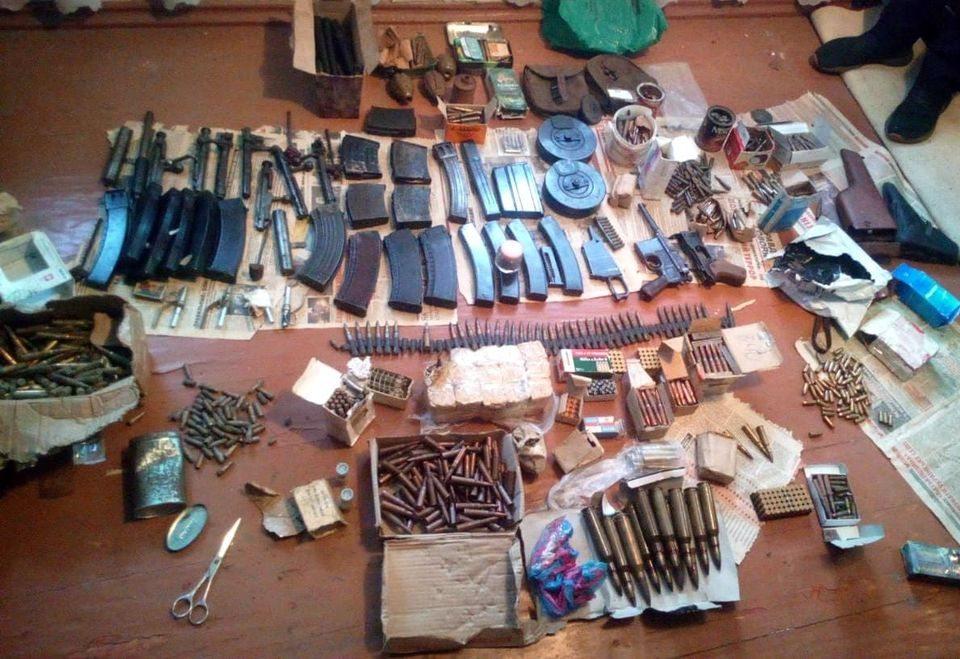 Пожилой житель Херсонщины хранил арсенал оружия и патронов Второй мировой войны