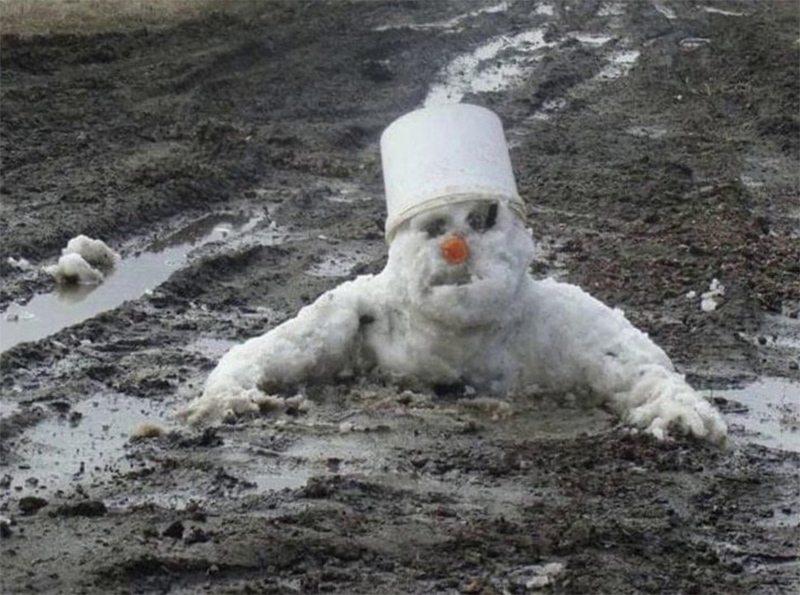 Экологи предсказывают бесснежные зимы в Украине