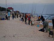 На Арабатской стрелке прошли соревнования по лове пеленгаса