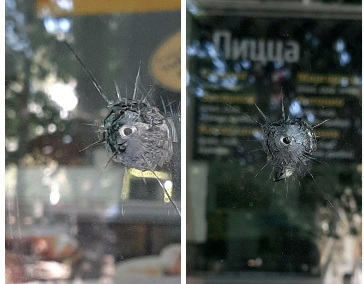 В Херсоне полиция ищет хулиганов, стрелявших из пневматики в двери аграрного университета