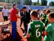 В Херсоне состоялся школьный турнир по футболу