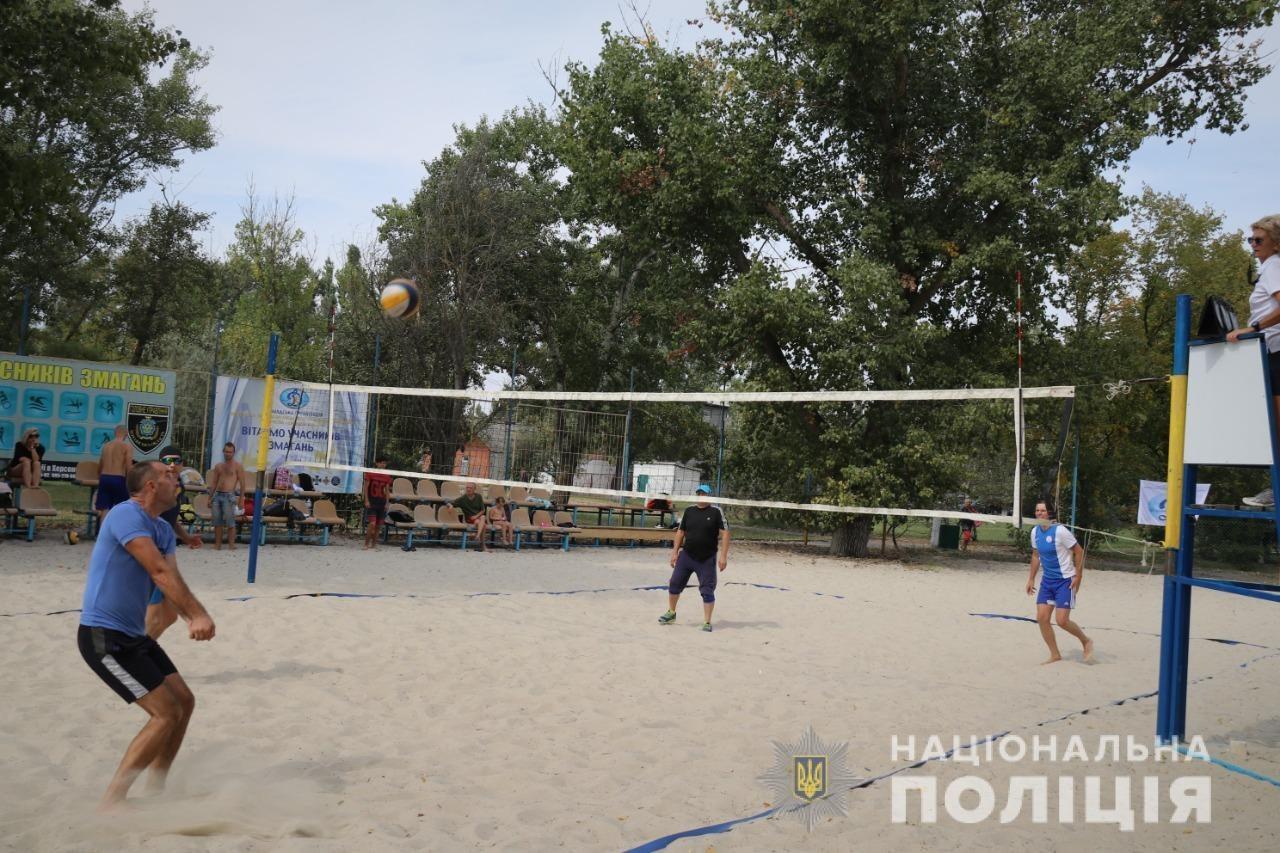 Херсон, пляж, волейбол
