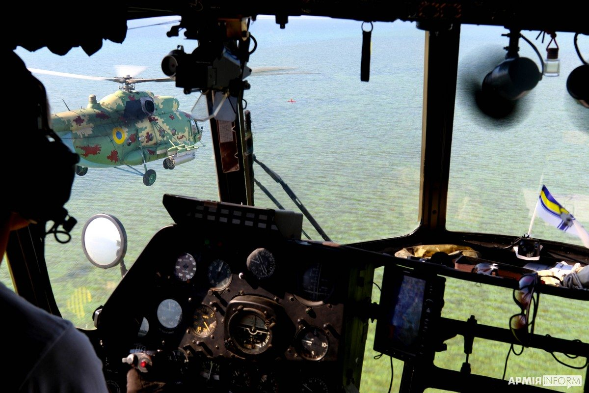 Херсонщина, авиаторы, море
