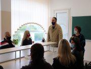 Досвід Херсонського держуніверситету вивчали вчителі з Миколаєва