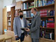 Перший заступник голови Херсонської облради відвідав Школу гуманітарної праці