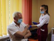 В  Херсонском госуниверситете открылся пункт вакцинации