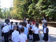 Студенти Херсонського держуніверситету ознайомили школярів з історією міста