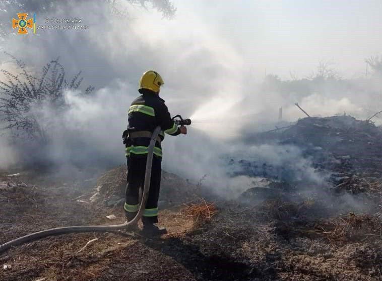 херсон, пожежа, рятувальники