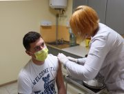 У Херсонському держуніверситеті викладачі та студенти активно вакцинуються