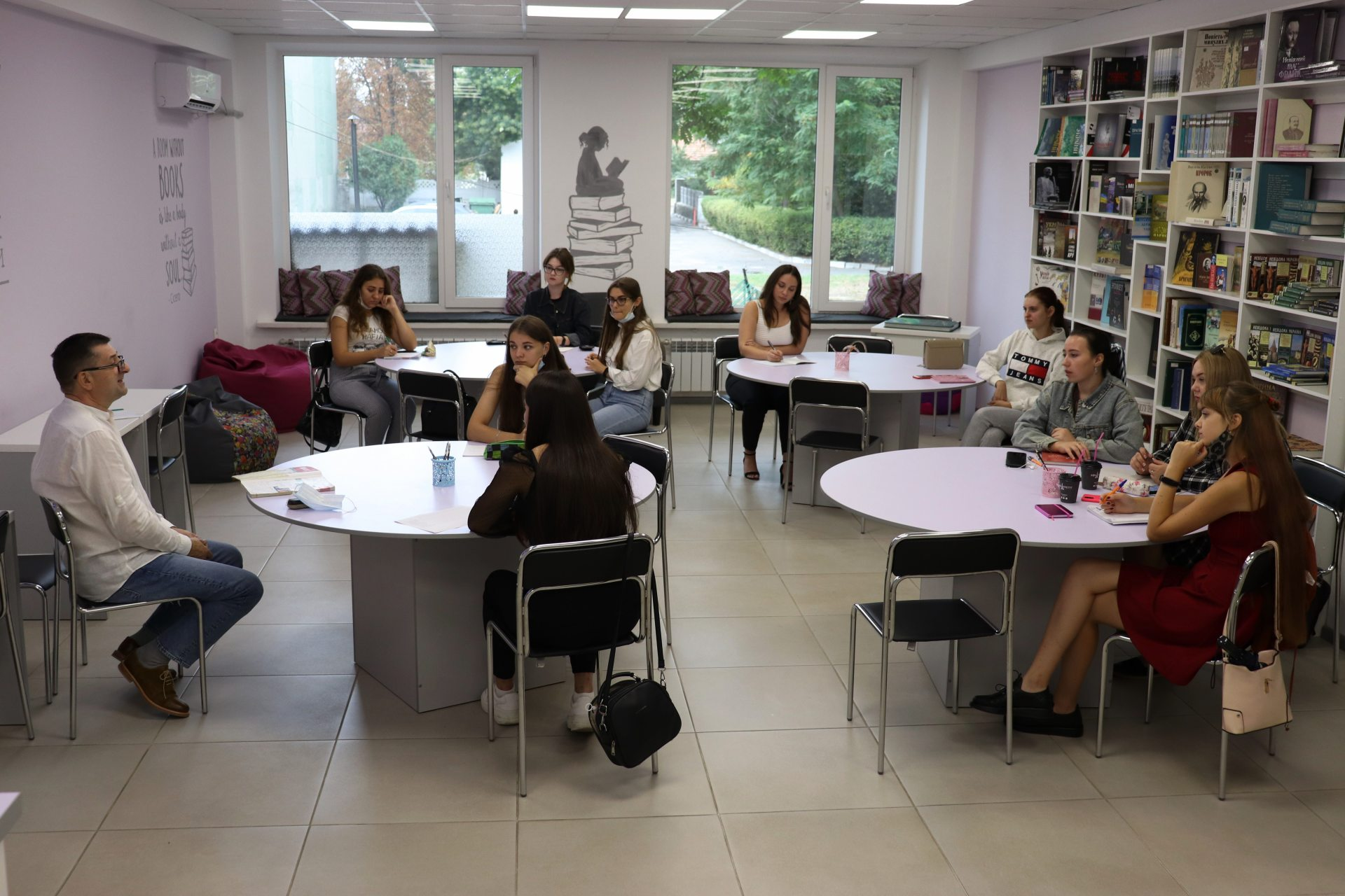 студенти, польська мова, ХДУ