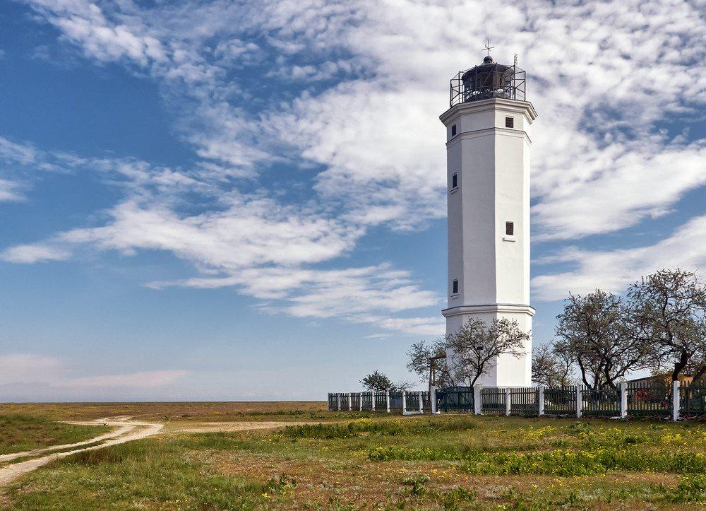 Херсонщина, маяк, історія