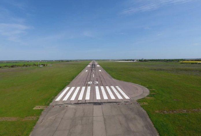 Херсонский аэропорт готовят к приёму тяжёлых боингов