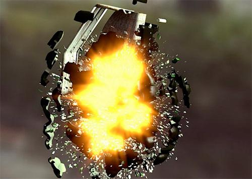 Подробности взрыва гранаты в херсонской многоэтажке