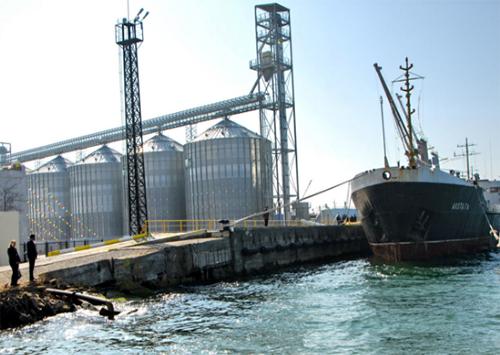 У пониззі Дніпра будують новий зерновий термінал