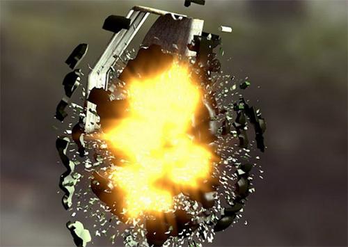 Вибух гранати й стрілянина в Херсоні