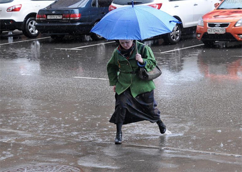 Дождь в Херсоне – это катастрофа