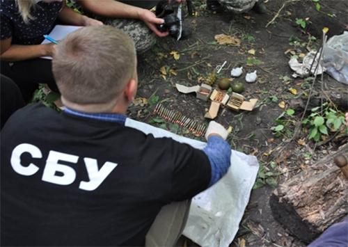 На Херсонщині співробітники СБУ вилучили зброю з АТО