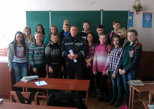На Херсонщине полиция провела мероприятия по профилактике детского дорожно-транспортного травматизма