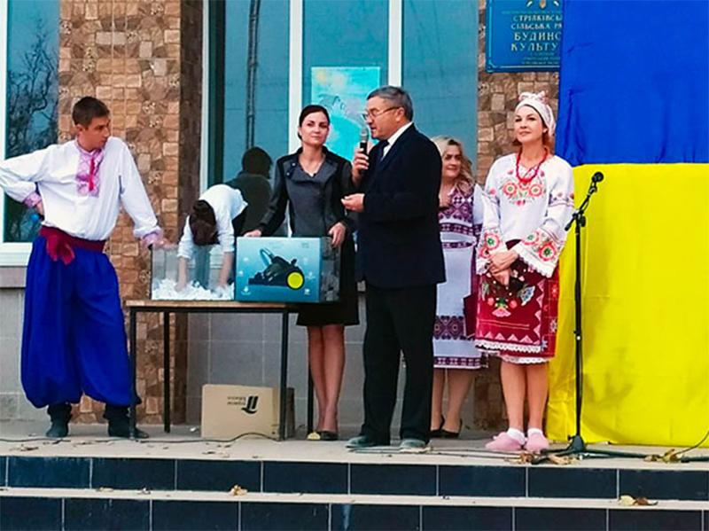 Праздничные концерты, ярмарки, лотереи:  в Геническом районе отмечают Дни села