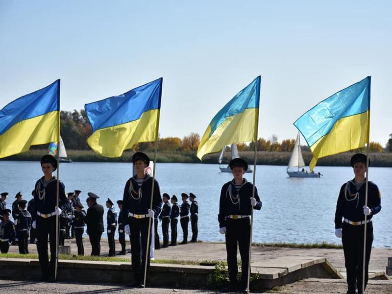 Олена Урсуленко: Тільки вперед, курсанти Херсонської Морської Академії!