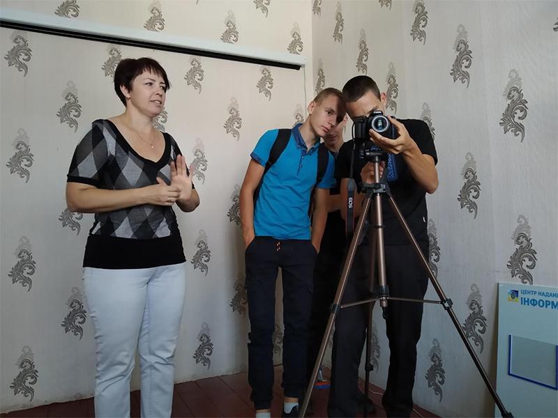 Власний медіа-клуб відкрила сільська громада на Херсонщині