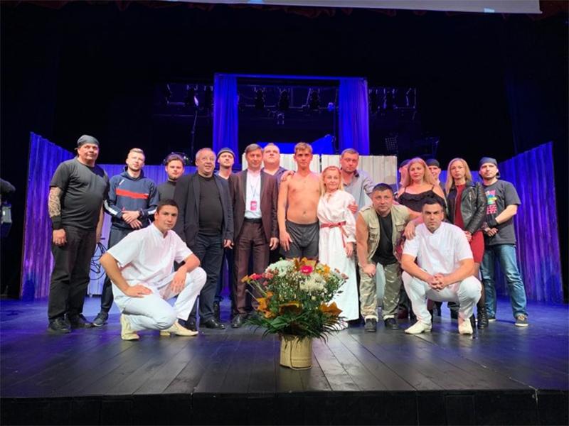Херсонський театр показав румунам свою «Межу»