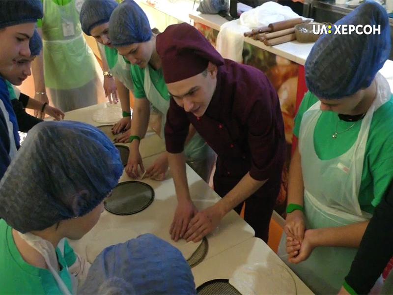 У Херсоні школярам розповідають про майбутні професії