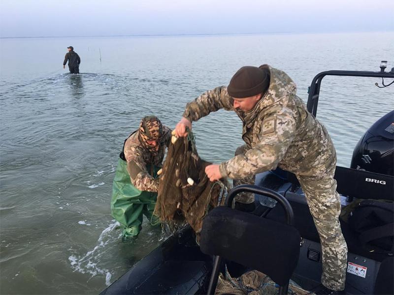 На Херсонщині врятували півтони морських біоресурсів